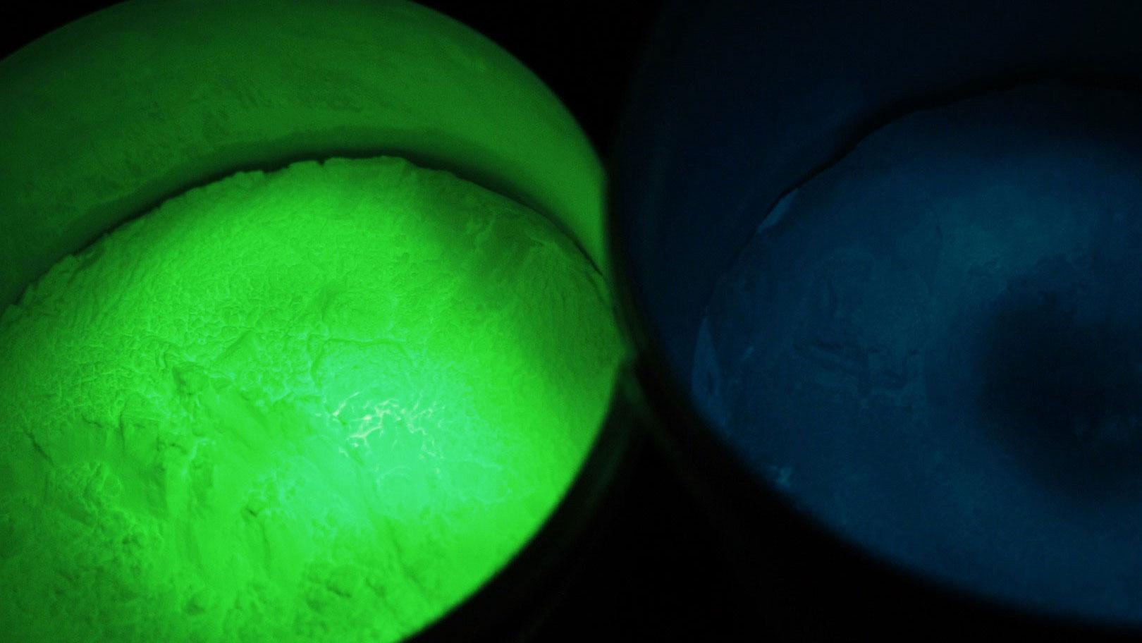 Pigments Photoluminescents Encres Et Peintures Fluorescentes